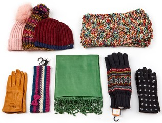 CREAM Šály+čepice+rukavice 5kg