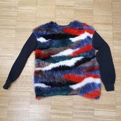 Chlupatý svetr Zara